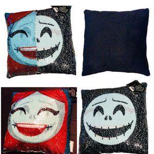 Nightmare Before Christmas Flip Sequins Pillow